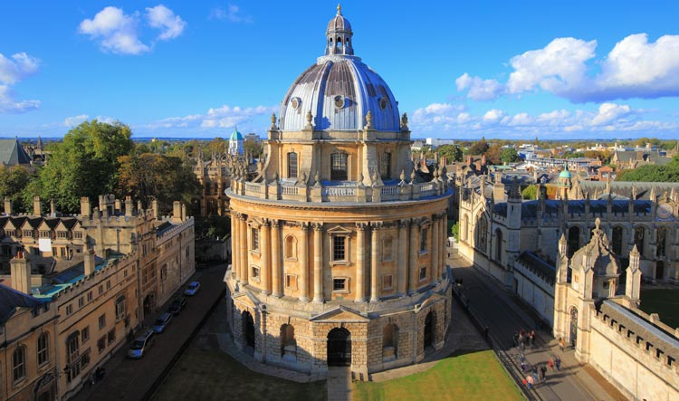 Radcliffe Camera & Square in Oxford