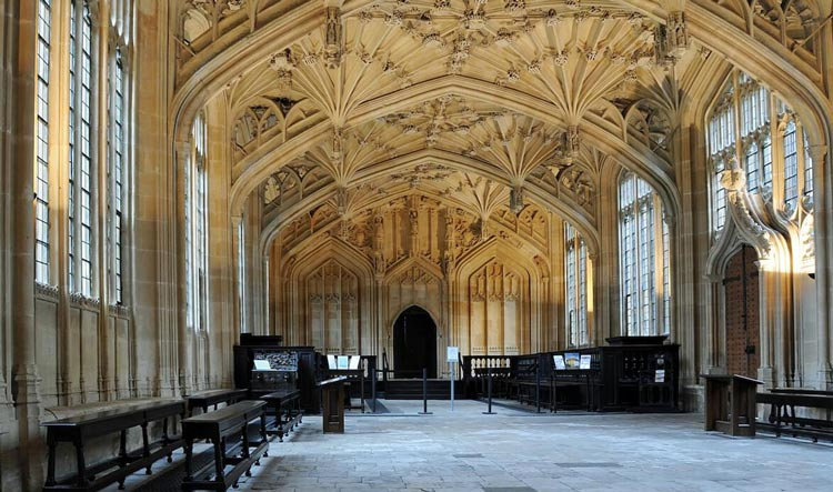 Divinity School in Oxford