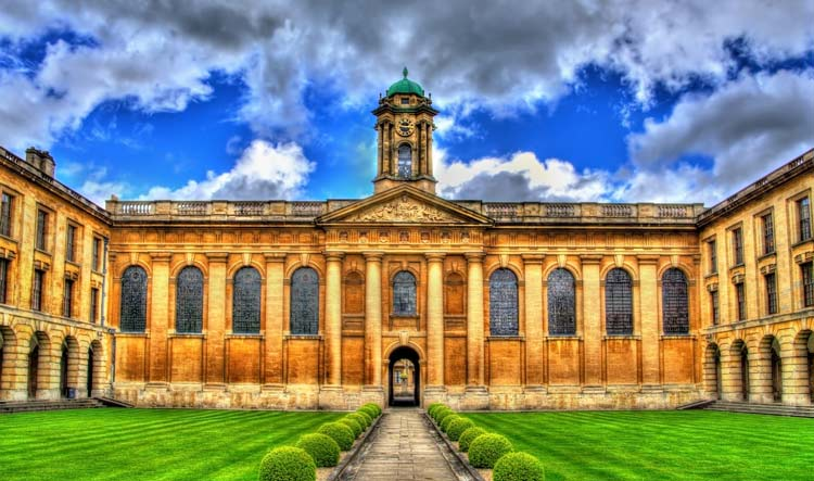 Queens' College in Oxford